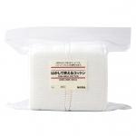 MUJI Peelable Cotton Pads (1 แผ่นสามารถแยกออกได้ถึง 4 แผ่น)