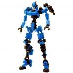 ASOBLOCK Epsilon Blue อโซบล็อค หุ่นนักรบ Epsilon สีน้ำเงิน