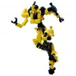 ASOBLOCK Epsilon Yellow อโซบล็อค หุ่นนักรบ Epsilon สีเหลือง