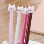 ปากกาหัวแมว ฝาขาว 72 บาท/แพค 12ชิ้น/แพค