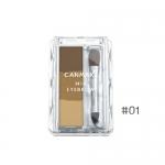 Canmake MIX Eyebrow #01 ที่เขียนคิ้วแบบฝุ่น ( 3 สี )