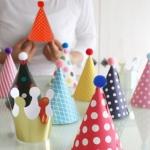 เซ็ตหมวกวันเกิด (Party Hat Set) 11 ชิ้น Made in Korea
