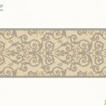 versace wallpaper บอร์เดอร์ สีครีมเงิน