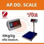 ตาชั่งดิจิตอล เครื่องชั่งดิจิตอล เครื่องชั่งตั้งพื้น 30kg ความละเอียด2g Digital Scale T7E platform scale 30kg ขนาดแทน30 x 40ซม.