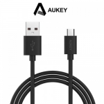 สายชาร์จ/ซิงค์ Aukey 6.6 ft. USB 2.0 Data Sync Charge Cable ยาว 2 เมตร (สีดำ)