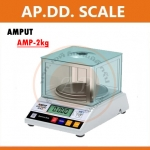 ตาชั่งดิจิตอล เครื่องชั่งดิจิตอล เครื่องชั่งแบบตั้งโต๊ะ Digital Scale 2kg ความละเอียด 0.01g ทศนิยม 2 ตำแหน่ง AMPUT รุ่น APTP457B