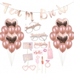 ROSE GOLD HEN PARTY Balloon & Party Props