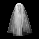 *BESTSELLER* Plain Bridal Veil (2 Layers)