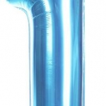40-inch Number 1 Foil Balloon (Blue)
