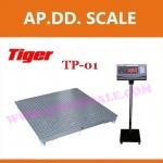 เครื่องชั่งดิจิตอล1000kg ความละเอียด0.1kgTP-1212-1000 ยี่ห้อTigerรุ่น TP–01 (ผ่านตรวจ สอบถามเพิ่มเติม)