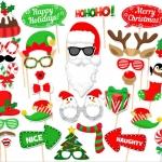 พร็อพถ่ายรูป, ป้ายคำพูด, ป้ายพร็อพถือถ่ายรูป, ป้ายพร็อพติดไม้ - วันคริสต์มาส, วันปีใหม่