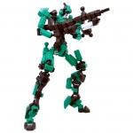 ASOBLOCK Epsilon Green อโซบล็อค หุ่นนักรบ Epsilon สีเขียว
