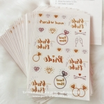 Tattoo set for Hen Party & Wedding