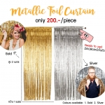 Metallic Foil Curtain/Fringe