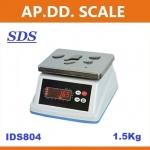 ตาชั่งดิจิตอล เครื่องชั่งกันน้ำ ตาชั่งกันน้ำ รุ่น IDS804-1.5K ยี่ห้อ SDS ไต้หวัน ราคาถูก คุณภาพดี