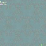 วอลเปเปอร์หลุยส์ใบไม้พื้นสีฟ้า