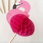 Cake Topper ลาย Flamingo
