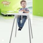 เก้าอี้เด็กทรงสูง ปรับระดับได้