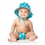 กางเกงผ้าอ้อมว่ายน้ำ Bumkins รุ่น Swim Diapers and Hat