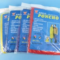 เสื้อกันฝน 50g PONCHO 12 ชิ้น / มัด