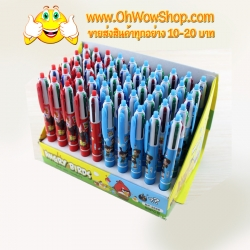 ปากกา 4 สี ลายการ์ตูน ราคา 384 บาท/แพค 48 ชิ้น/แพค