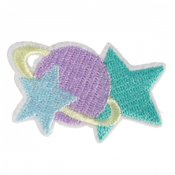S0080 Space Star pastel 5.3x3.2cm