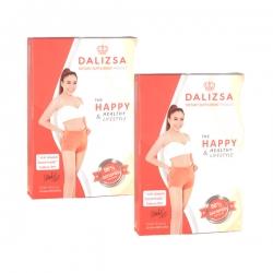 Dalizsa ดาลิสซ่า ผลิตภัณฑ์อาหารเสริมควบคุมน้ำหนัก โดย ดีเจ ดาด้า คอร์ส 1 เดือน 2 กล่อง 60 แคปซูล