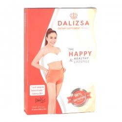 Dalizsa ดาลิสซ่า ผลิตภัณฑ์อาหารเสริมควบคุมน้ำหนัก โดย ดีเจ ดาด้า ตัวช่วย ลดความอ้วน 1 กล่อง 30 แคปซูล