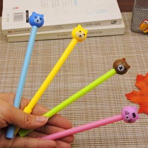 ปากกาหัวสัตว์จิ๋ว(เจลน้ำเงิน) 96 บาท/โหล 12ชิ้น/โหล