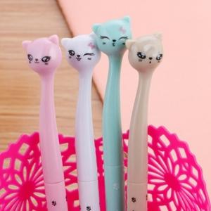 ปากกาหัวแมว แฟชั่น 72 บาท/แพค 12ชิ้น/แพค