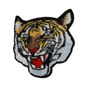 L0021 TIGER wild animal 7.8x7.5cm