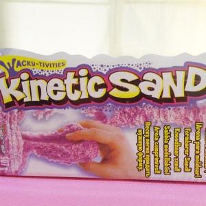 ทรายไฮเทครุ่นใหม่ สีม่วง Kinetic sand