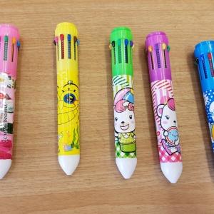 ปากกา 10 สี 120บาท/โหล 12ชิ้น/โหล