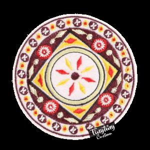 Custom Embroidered Art 1st