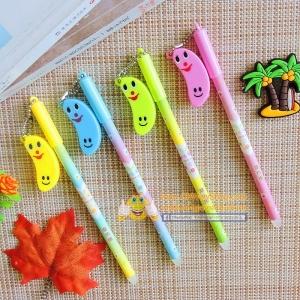 ปากกาห้อยกล้วยยิ้ม(เจลน้ำเงิน) 96 บาท/โหล 12ชิ้น/โหล