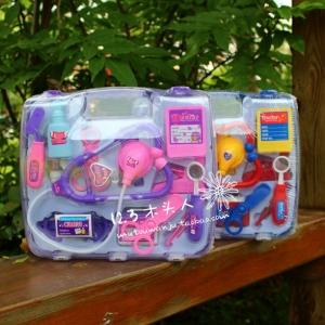 ชุดของเล่นคุณหมอ บทบาทสมมุติ (สีชมพู)