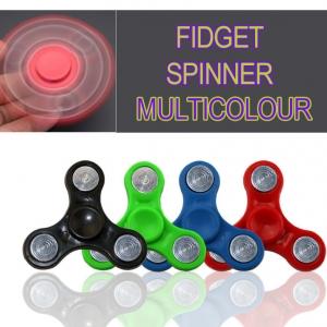 Fidget Spinner ของเล่นลูกข่างฝึกสมาธิ แบบ 3 แฉก คละสี ราคา 168 บาท / 12ชิ้น