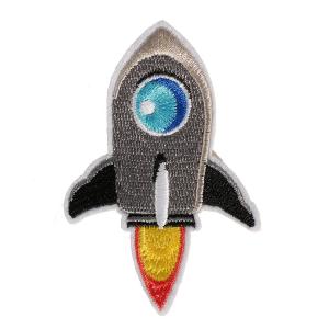 M0045 Space Rocket 5.6x8.5cm