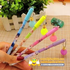 ปากกาเจลลบได้ห้อยหลอดไฟ(เจลน้ำเงิน) 108 บาท/โหล 12ชิ้น/โหล