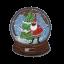 M0135 Snow Globe Christmas 6.5x7.5cm