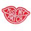 S0036 Kiss My Patch 4.5cmx7.6cm