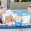 กางเกงผ้าอ้อมว่ายน้ำ Bumkins รุ่น Swim Diapers and Hat thumbnail 3