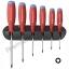 ชุดไขควง PB Swiss Tools รุ่น PB 8440 ด้ามยางกันไฟ หัว Torx หรือหัวดาว พร้อมที่ติดผนัง (6 ตัว/ชุด)