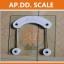 เครื่องชั่งน้ำหนักคนเเบบกระจกนิรภัย จอ LCD ระบบดิจิตอล Personal scale รุ่น2005D thumbnail 5