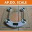 เครื่องชั่งน้ำหนักคนเเบบกระจกนิรภัย จอ LCD ระบบดิจิตอล Personal scale รุ่น2005D thumbnail 4