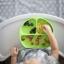 Silicone Grip Dish สีเขียว thumbnail 2