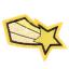 S0045 Comet Gold Patch 3.5x3.7cm