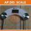 เครื่องชั่งน้ำหนักคนเเบบกระจกนิรภัย จอ LCD ระบบดิจิตอล Personal scale รุ่น2005D thumbnail 3