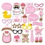 IT'S A BABY GIRL Photo Prop Set