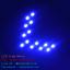 ไฟเลี้ยว LED SMD 14 ดวง กระพริบ 1 Step สีน้ำเงิน